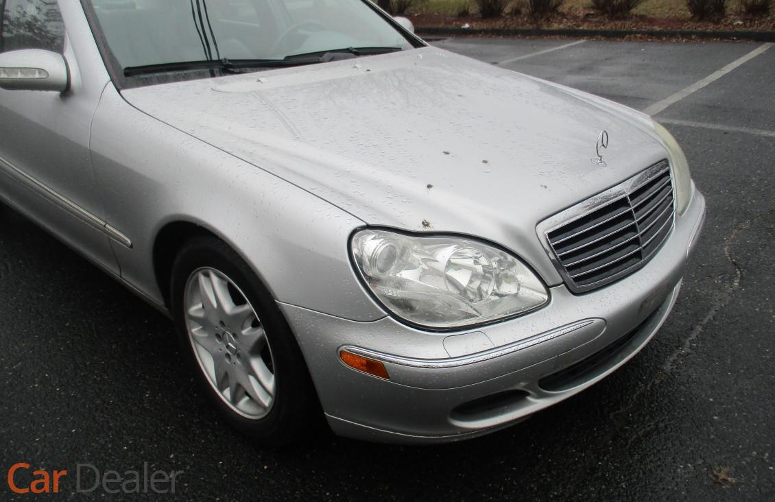 service manual how to test 2003 mercedes benz s class. Black Bedroom Furniture Sets. Home Design Ideas